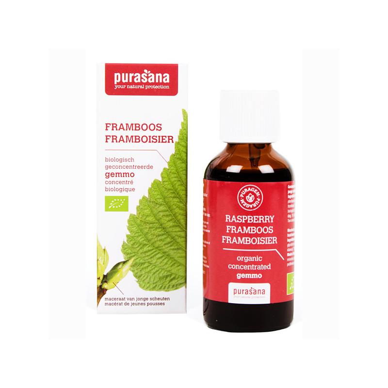 Framboisier Bio 50 ml Purasana Flacon-gouttes 50ml