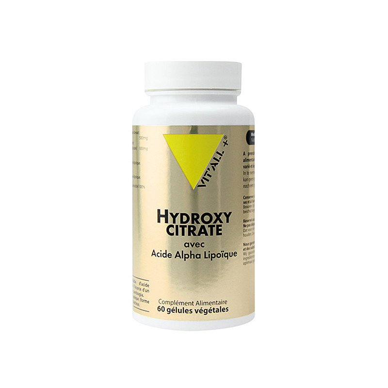 Hydroxycitrate + Acide Alpha L Vitall+
