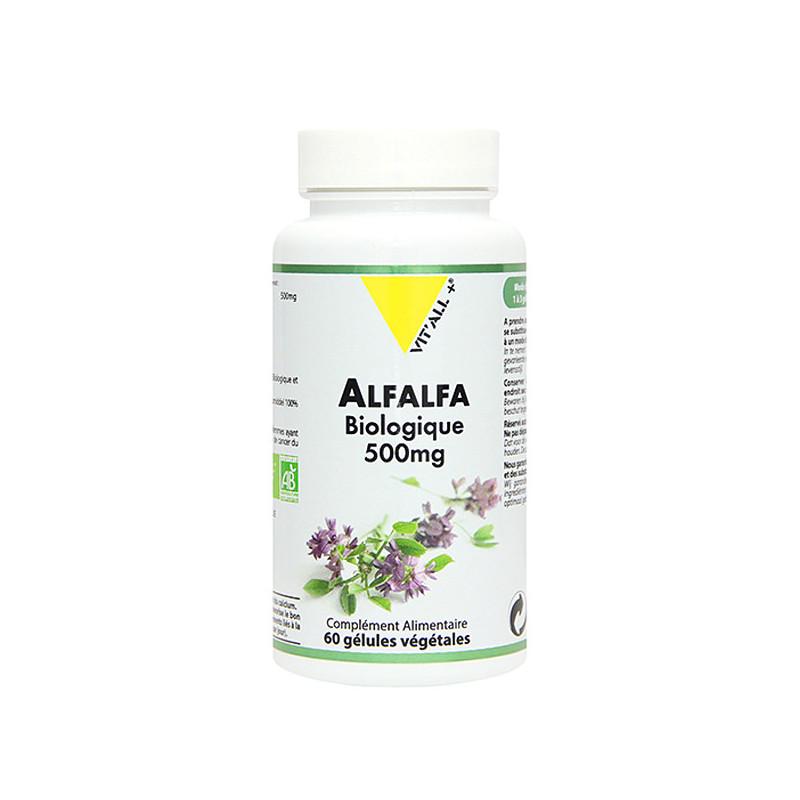 Alfalfa Bio 60 gélules Vit'All+ 60 gélules végétales
