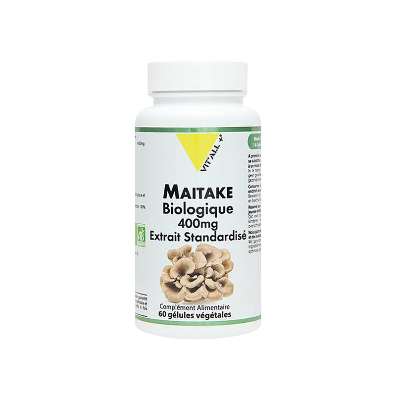 Maitake Bio 400mg 60 Gélules Vit'All+ 60 gélules végétales