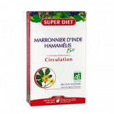 Marronnier d'inde - hamamélis 20 ampoules 15ml