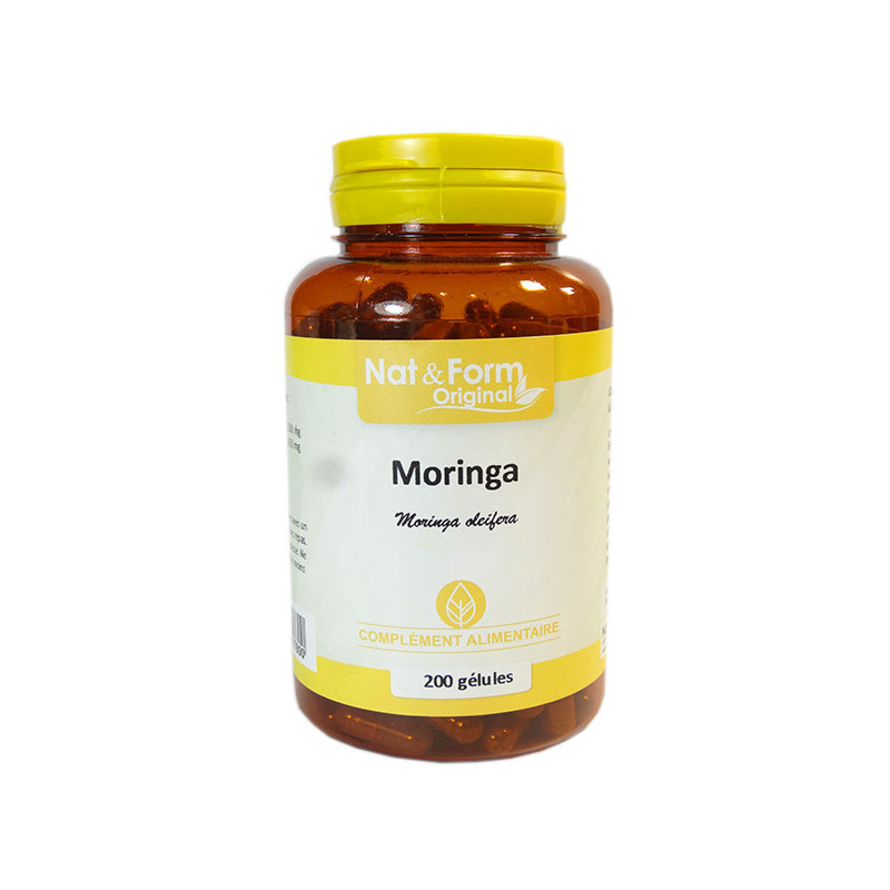 Moringa 200 gélules Nat & Form 200 gélules