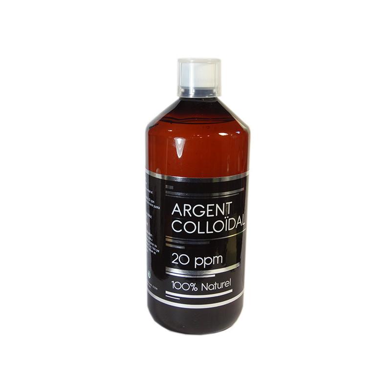 Argent Colloidal Litre 20 ppm NutriVie 1Litre