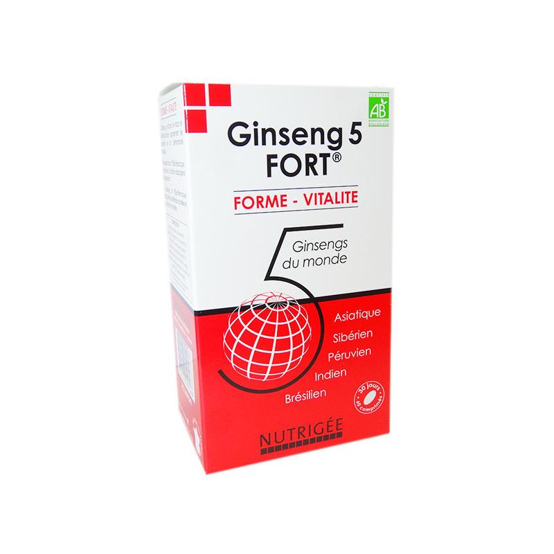 Ginseng 5 FORT Nutrigée 60 comprimés