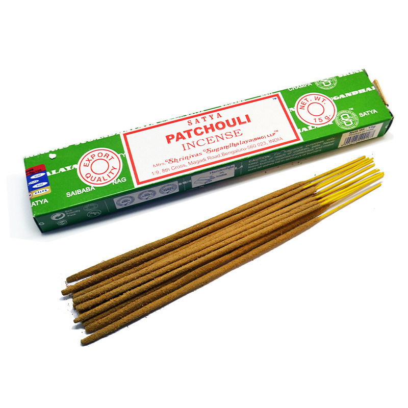 Nag Champa Patchouli Incense Boîte de 12 bâtonnets
