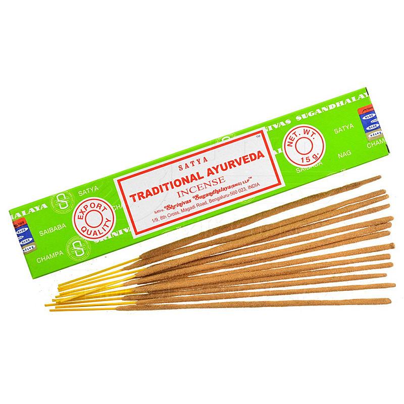 Nag Champa Traditionnal Ayurveda Boîte de 12 bâtonnets