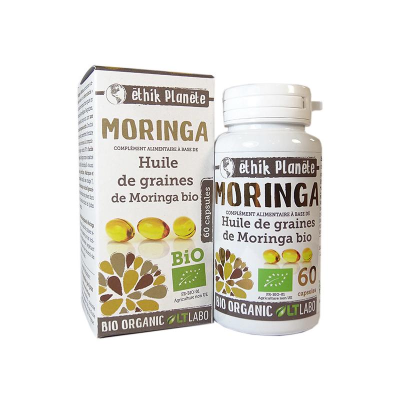Huile de graines de Moringa Bio 60 capsules 60 capsules