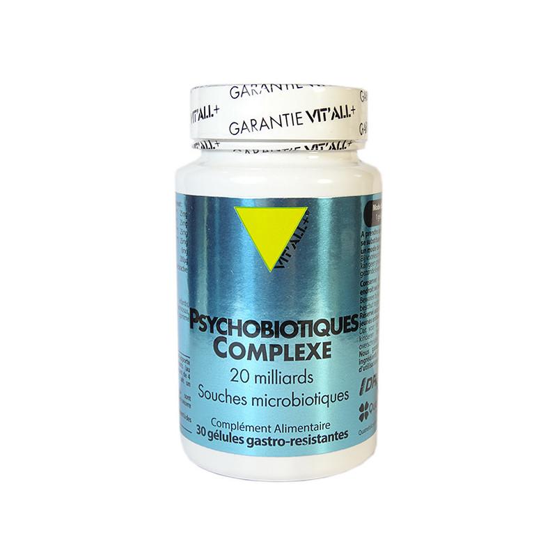 Psychobiotiques complexe Vitall+ 30 gélules 30 gélules