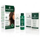 Herbatint 4N Châtain 150ml Kit soin colorant