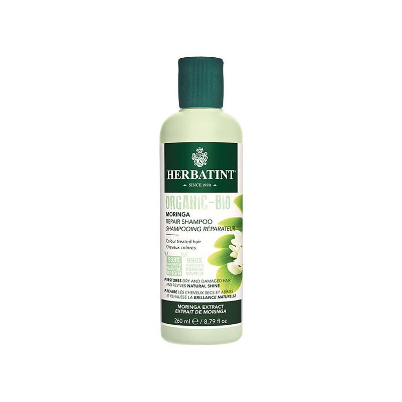 Shampooing réparateur Moringa Herbatint 260 ml