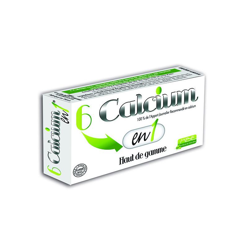 6 Calcium en 1 60 comprimés MBE 60 comprimés