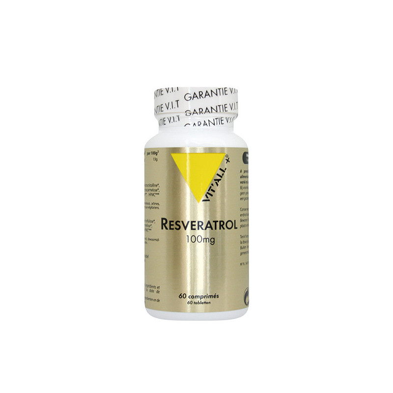 Resvératrol 100 mg 60 gélules Vitall+ 60 gélules