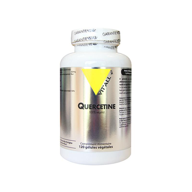 Quercetine 350mg 120 gélules Vitall+ 120 gélules végétales