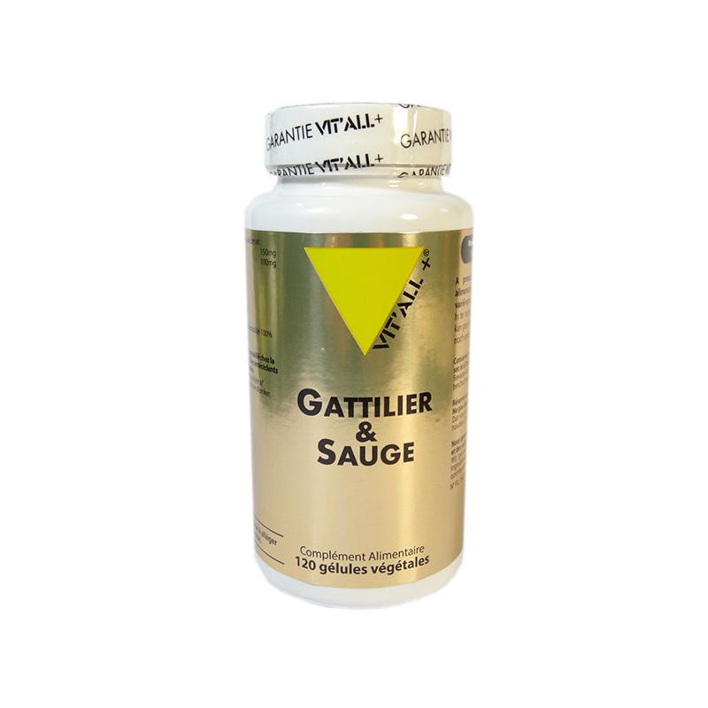 Gattilier & Sauge 120 gélules Vitall+ 120 gélules