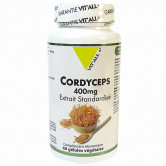 Cordyceps 400mg 60 gélules Vitall+ 60 gélules végétales