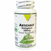 Artichaut Bio 500mg 60 gélules Vitall+ 60 gélules végétales