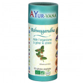 Ashwagandha Bio 60 gélules Ayur Vana 60 gélules végétales