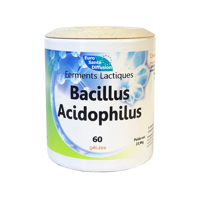 Bacillus Acidophilus 60 Gélules ESD 60 gélules végétales