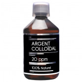 Argent Colloidal 500ml 20 ppm NutriVie 500 ml