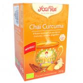 Chaï Curcuma Yogi Tea 17 infusions 17 sachets