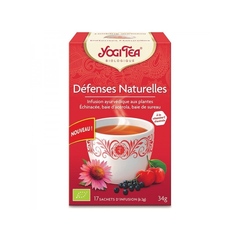 Défenses naturelles Yogi Tea 17 infusions 17 sachets