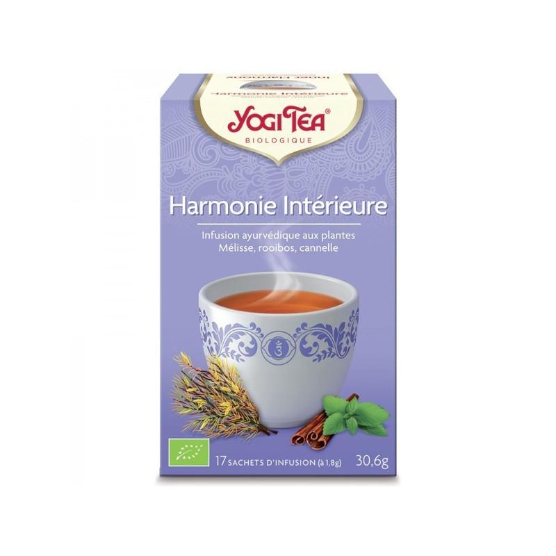 Harmonie intérieure Yogi Tea 17 infusions 17 sachets