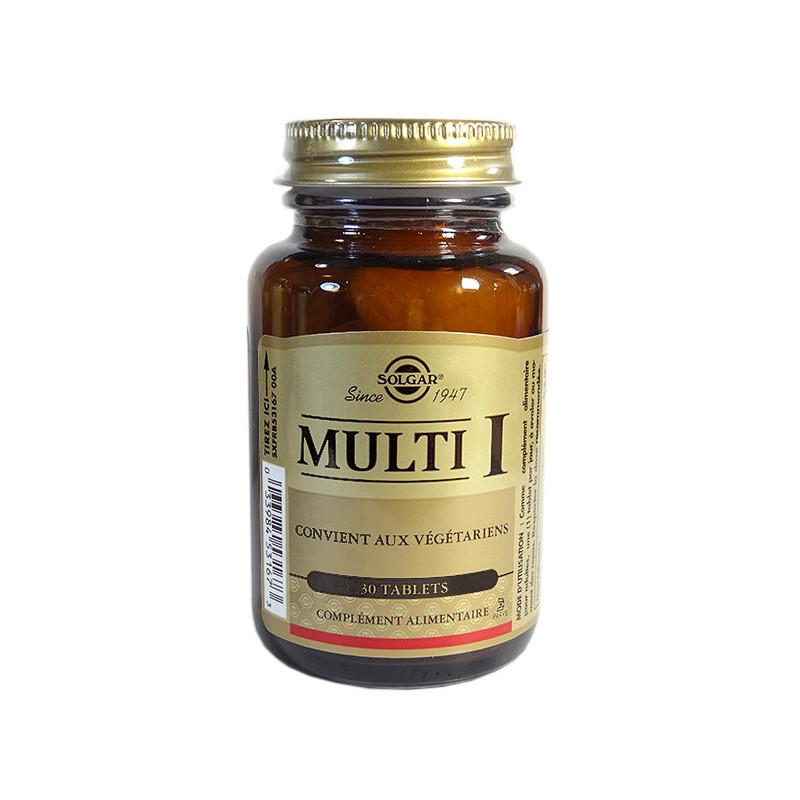 Multi I 30 comprimés Solgar 30 comprimés