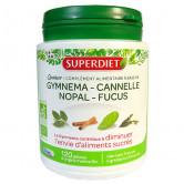 Quatuor Gymnema Cannelle Nopal 120 gélules Super Diet 120 gélules