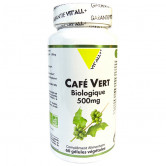 Café Vert Bio 500mg 60 gélules Vitall+ 60 gélules végétales