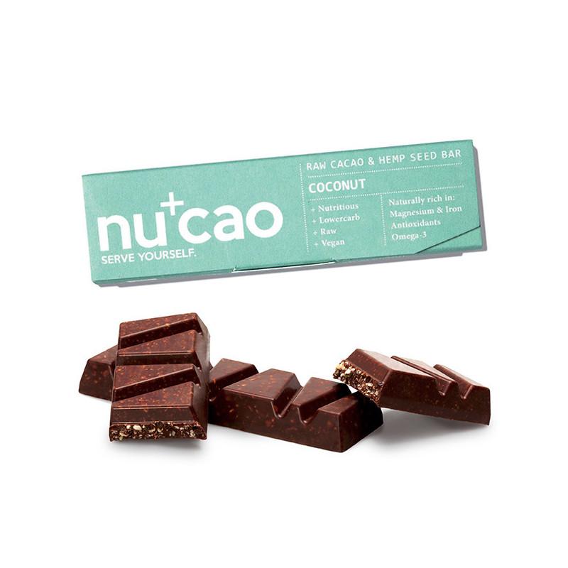 Barre Nucao Noix de Coco Bio 40 gr