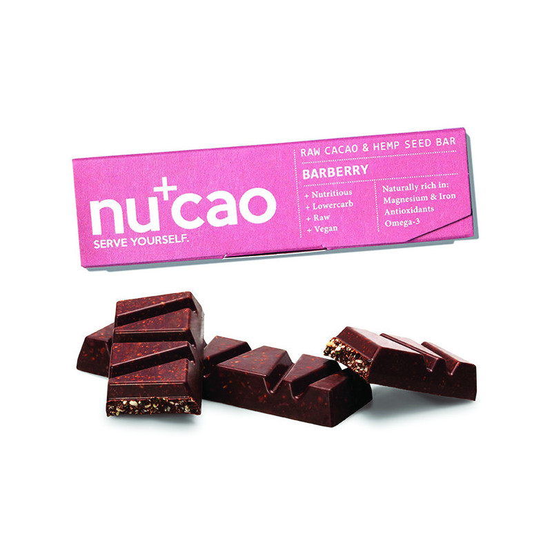 Barre Nucao Baies sauvages Bio 40 gr
