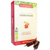 Vigne rouge Bio 20 ampoules Super Diet 20 ampoules 15ml