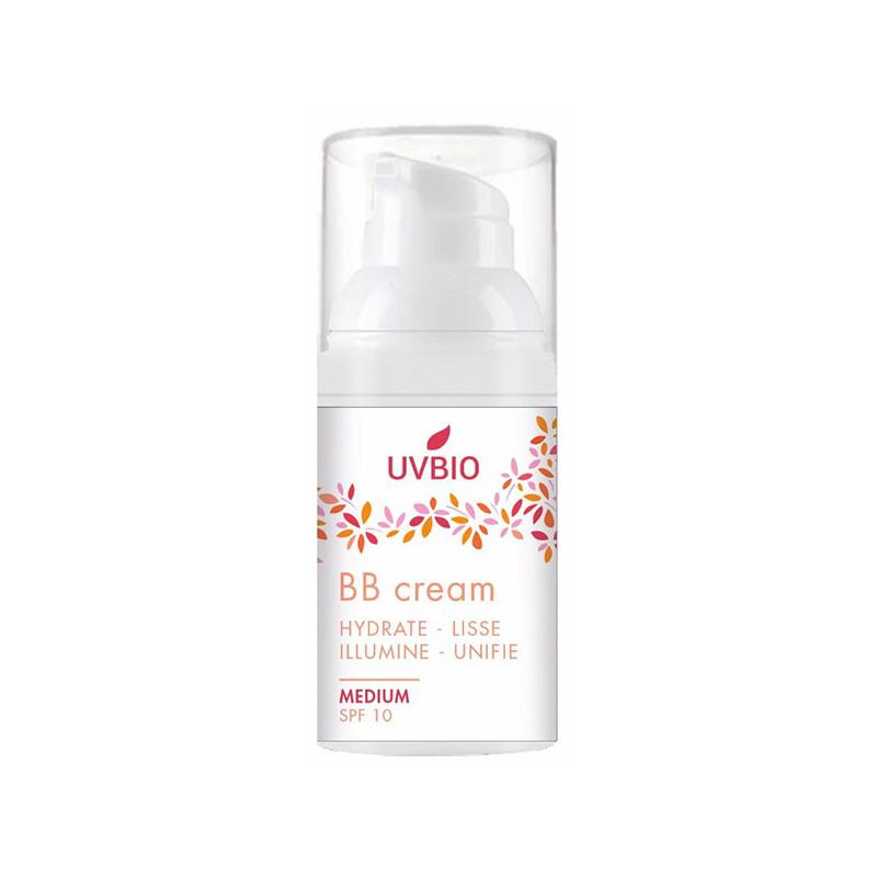 BB crème teintée indice 10 UVBIO 30ml flacon pompe