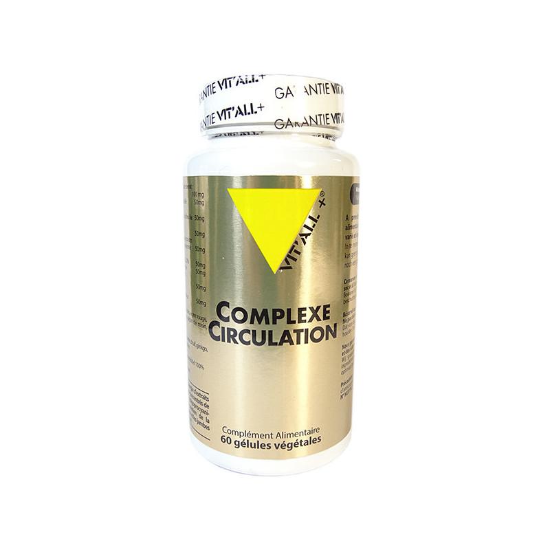 Complexe Circulation 60 gélules Vitall+ 60 gélules végétales