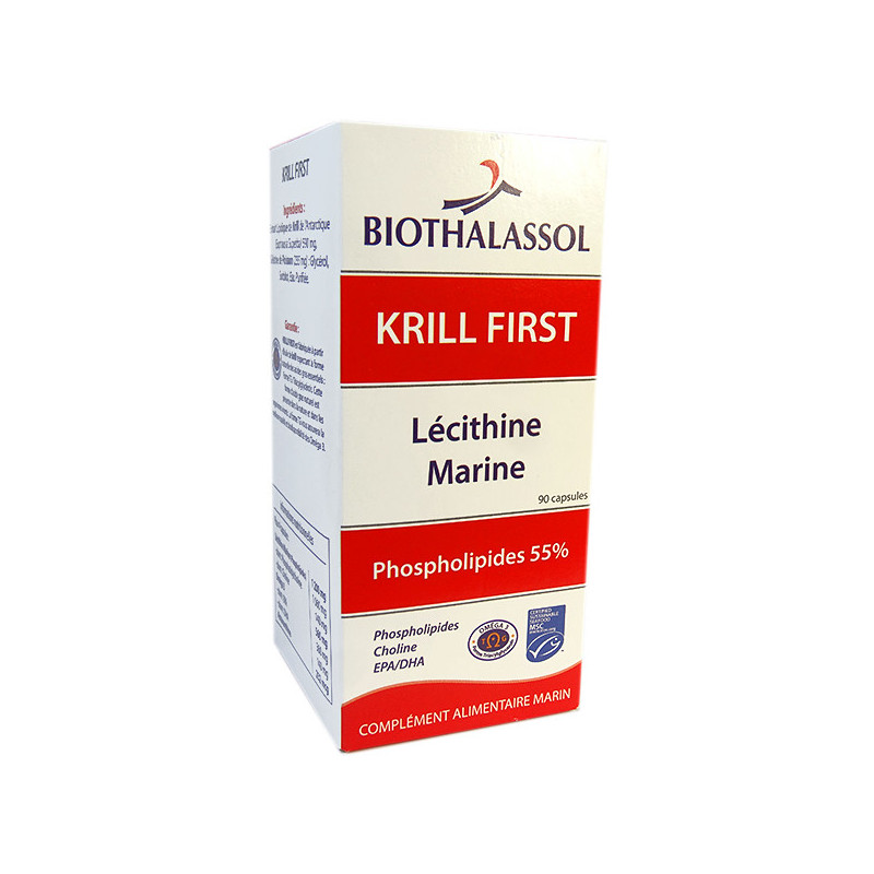 Krill First 90 capsules Biothalassol 90 capsules