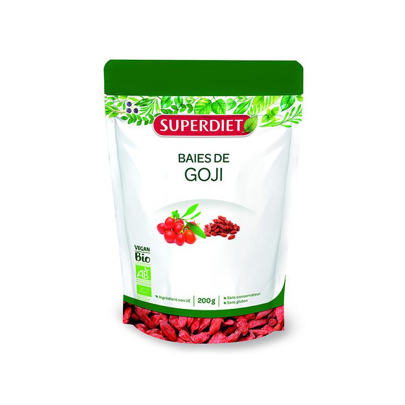Baies de Goji Bio Vegan 200gr Super-Diet Doypack 200gr