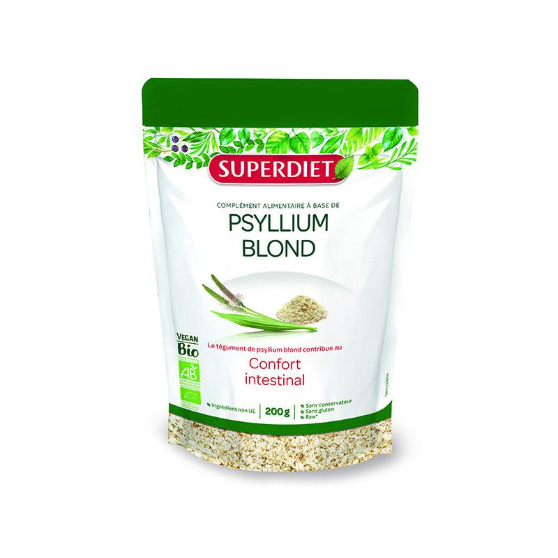 Psyllium Blond Bio Vegan 200gr Super-Diet Doypack 200gr