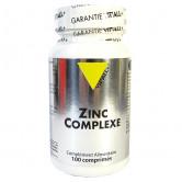 Zinc Complexe Bisglycinate 100 cp Vitall plus 100 comprimés