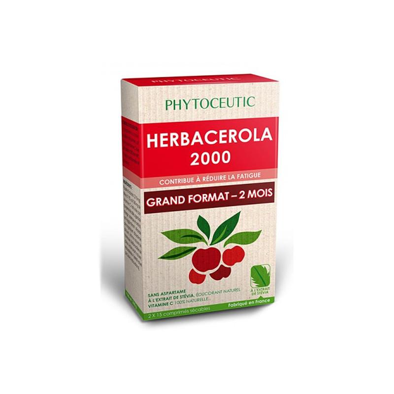 Herbacerola 2000 30 comprimés Phytoceutic 2 X 15 comprimés
