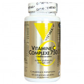 Vitamine C Complexe 750 60cp Vitall+ 60 comprimés