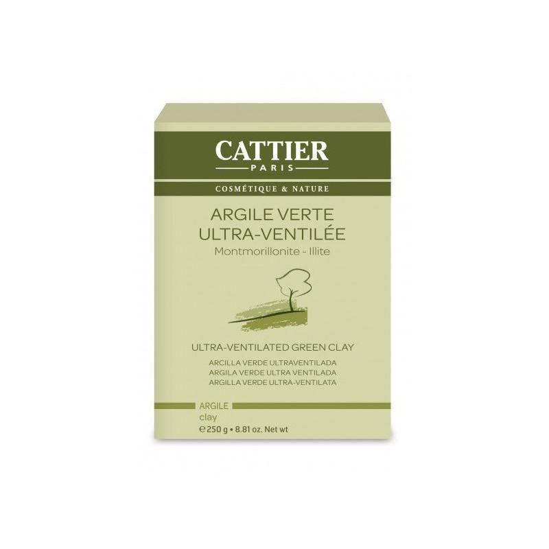 Argile Verte Ultra-Ventilée 250g Cattier 250 gr