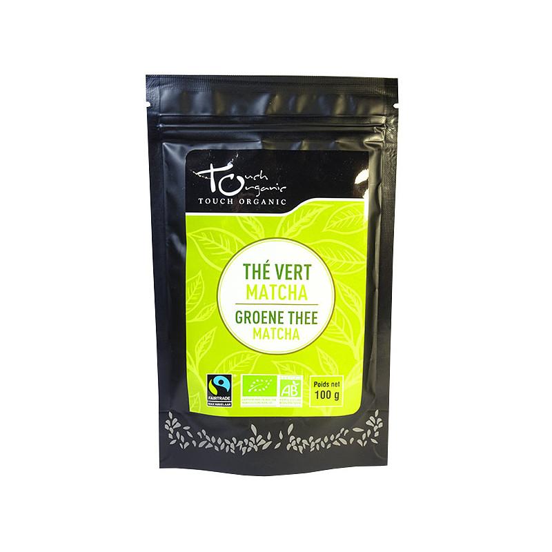 Thé vert Matcha Bio Vrac 100 gr Touch Organic Sachet 100 gr