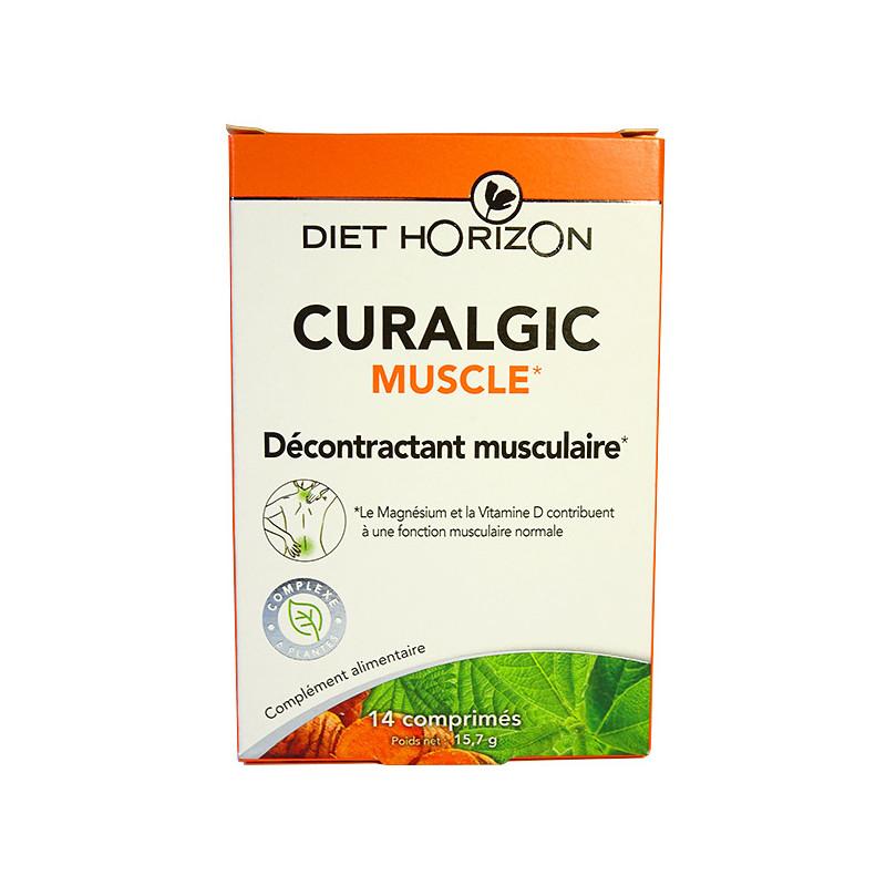 Curalgic Muscles 14 comprimés Diet Horizon 14 comprimés