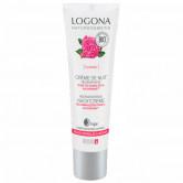 Logona Crème de nuit Régénérante Rose de Damas Bio 30 ml