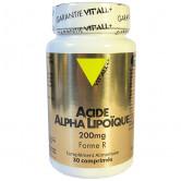Acide Alpha Lipoïque 200mg Vitall+ 30 comprimés