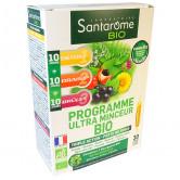 Programme Ultra Minceur Bio Santarome 30 ampoules