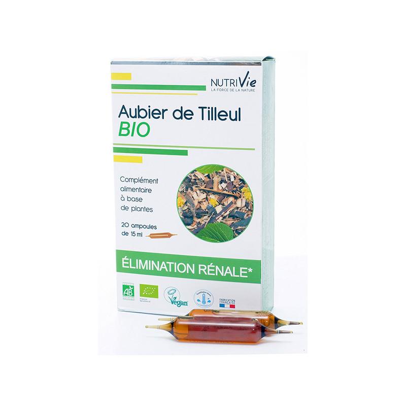 Aubier de tilleul Bio 20 ampoules Nutrivie 20 ampoules