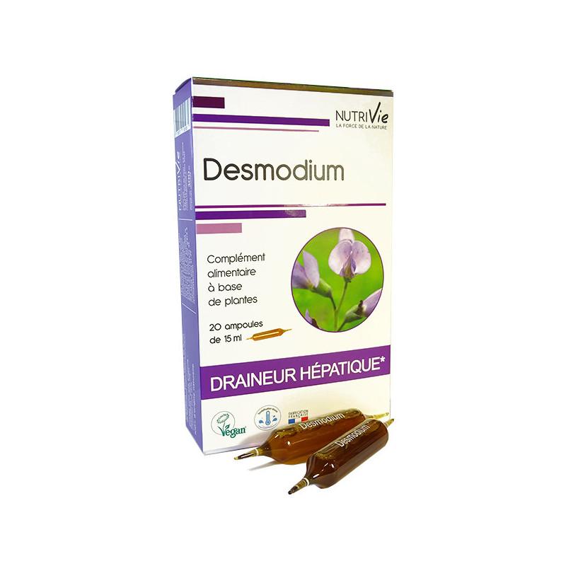 Desmodium Nutrivie 20 ampoules 20 ampoules de 15ml