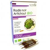 Radis noir Artichaut Bio Nutrivie 20 ampoules 20 ampoules de 15ml