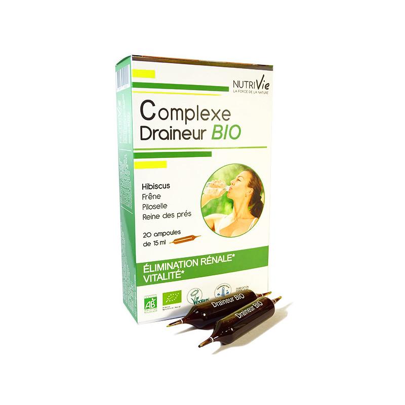 Complexe draineur Bio Nutrivie 20 ampoules 20 ampoules de 15ml